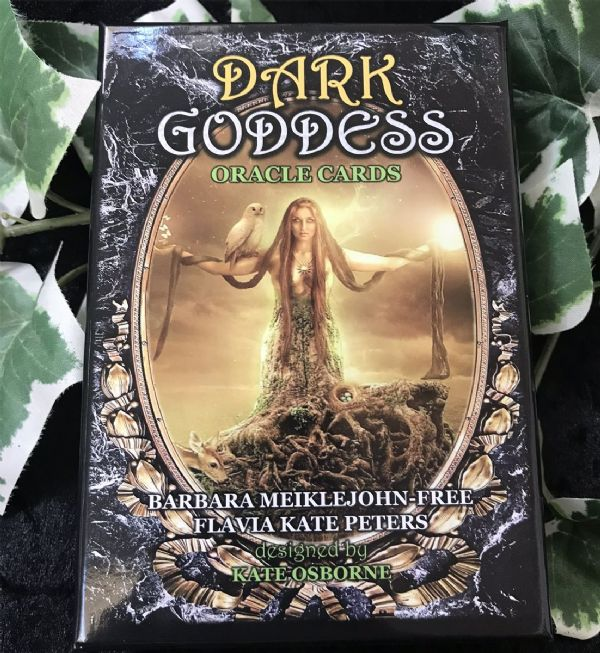 NEMESIS NOW Dark Goddess Oracle Card Deck